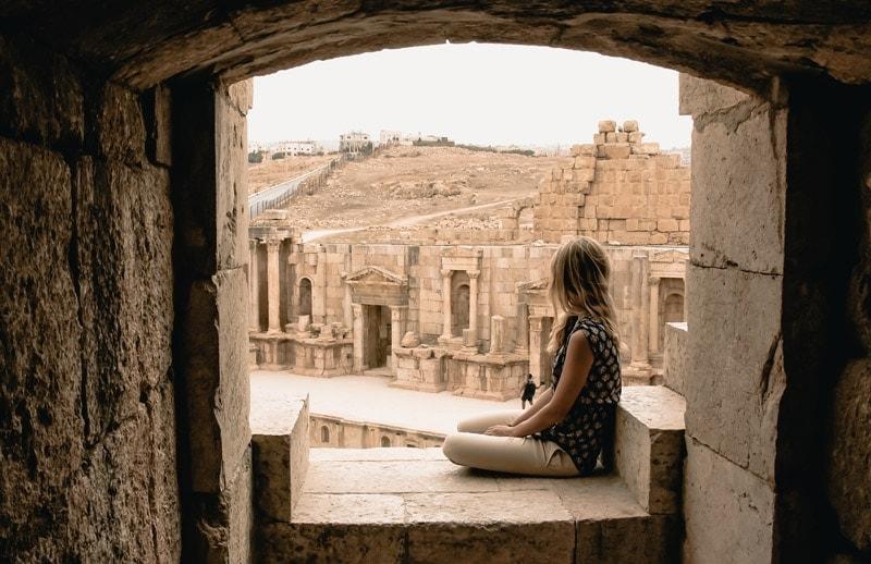 Jordanien Jerash Ruinen