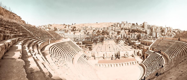 Sehenswürdigkeiten Jordanien Amman römisches Theater