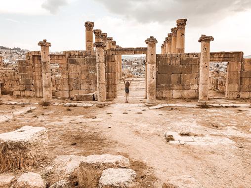Jordanien Sehenswürdigkeiten Jerash Ruinen