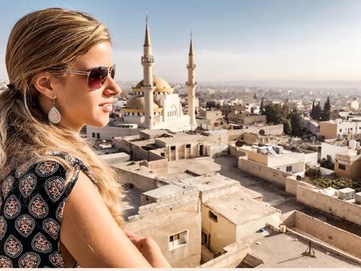 Highlights Jordanien Moschee Madaba
