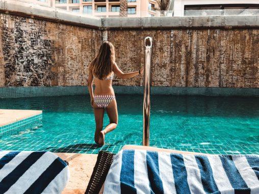 Pool im Hilton Dead Sea Resort Jordanien