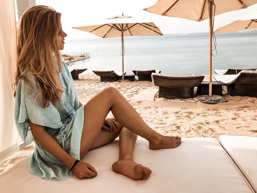 Strand Hilton Dead Sea Resort Jordanien