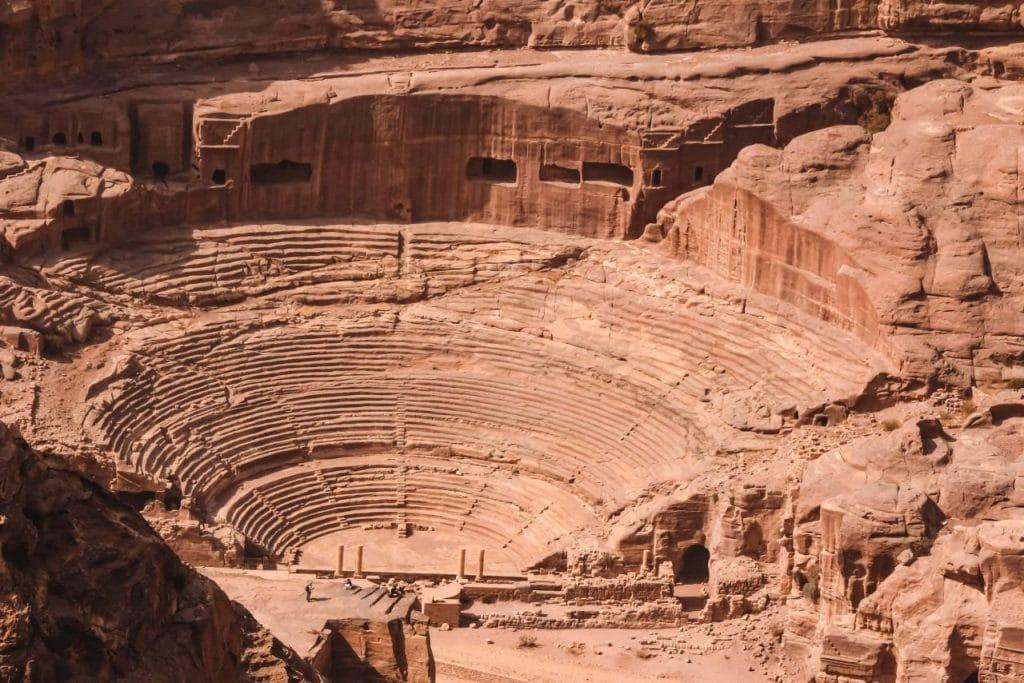 Sehenswürdigkeit Jordanien Theater Petra