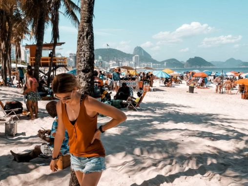 Sehenswürdigkeiten Rio de Janeiro Ipanema Beach