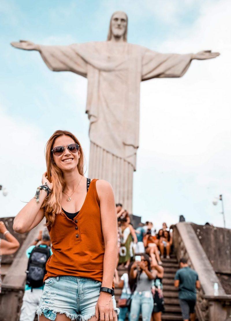 Weltwunder Rio de Janeiro Cristo Redentor Sehenswürdigkeit