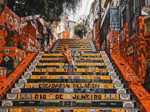 Highlights Rio de Janeiro Escadaria Selaron