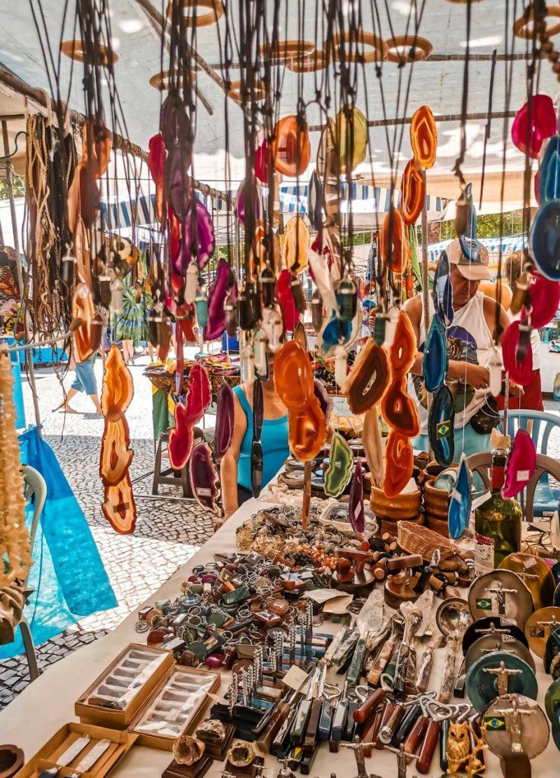 Rio de Janeiro Hippie Markt Ipanema