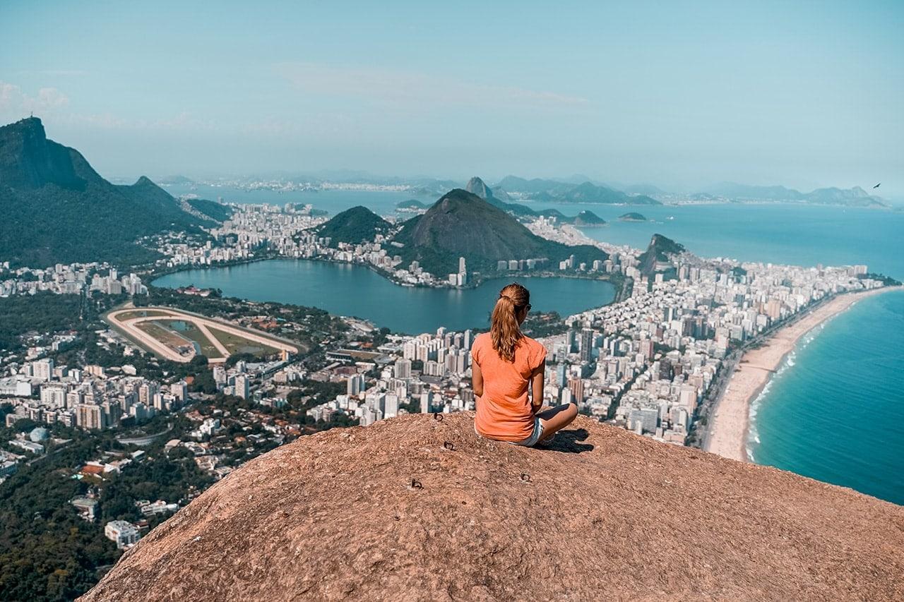 wandern in rio de janeiro Sehenswürdigkeiten Rio de Janeiro Wanderung Two Brothers Mountain