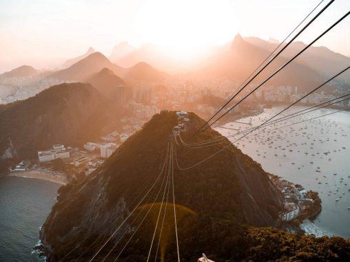 Rio de Janeiro Sehenswürdigkeiten Sonnenuntergang Zuckerhut