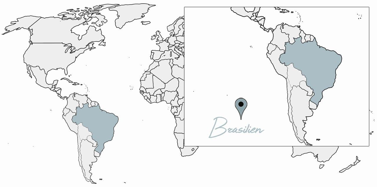 brasilien reisetipps länderinfo karte