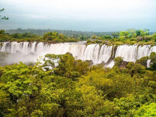 Ausblick Iguazu Wasserfälle Argentinien