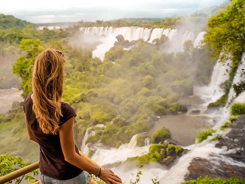 Sehenswürdigkeiten Argentinien Iguazu Wasserfälle
