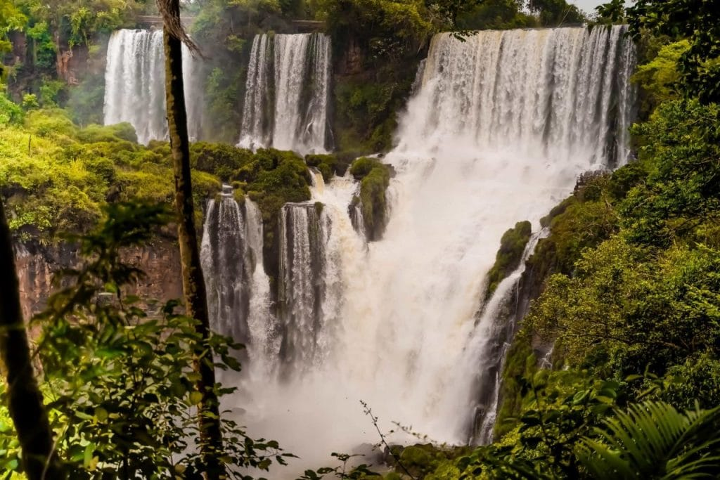 Wanderwege Iguazu Wasserfälle Argentinien