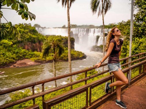 Insel San Martin Iguazu Wasserfälle Argentinien