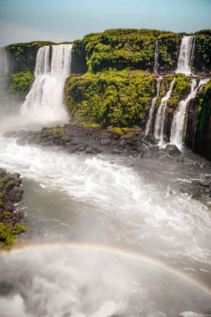 Naturwunder Iguazu Wasserfälle in Brasilien