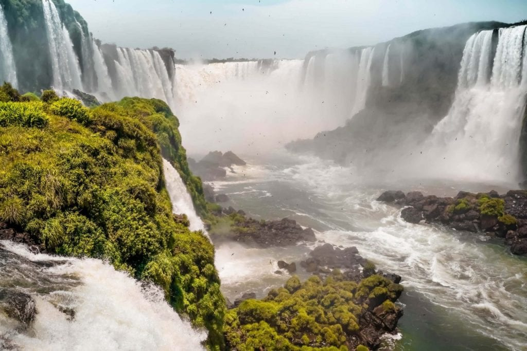 Iguazu Wasserfälle Brasilien Südamerika