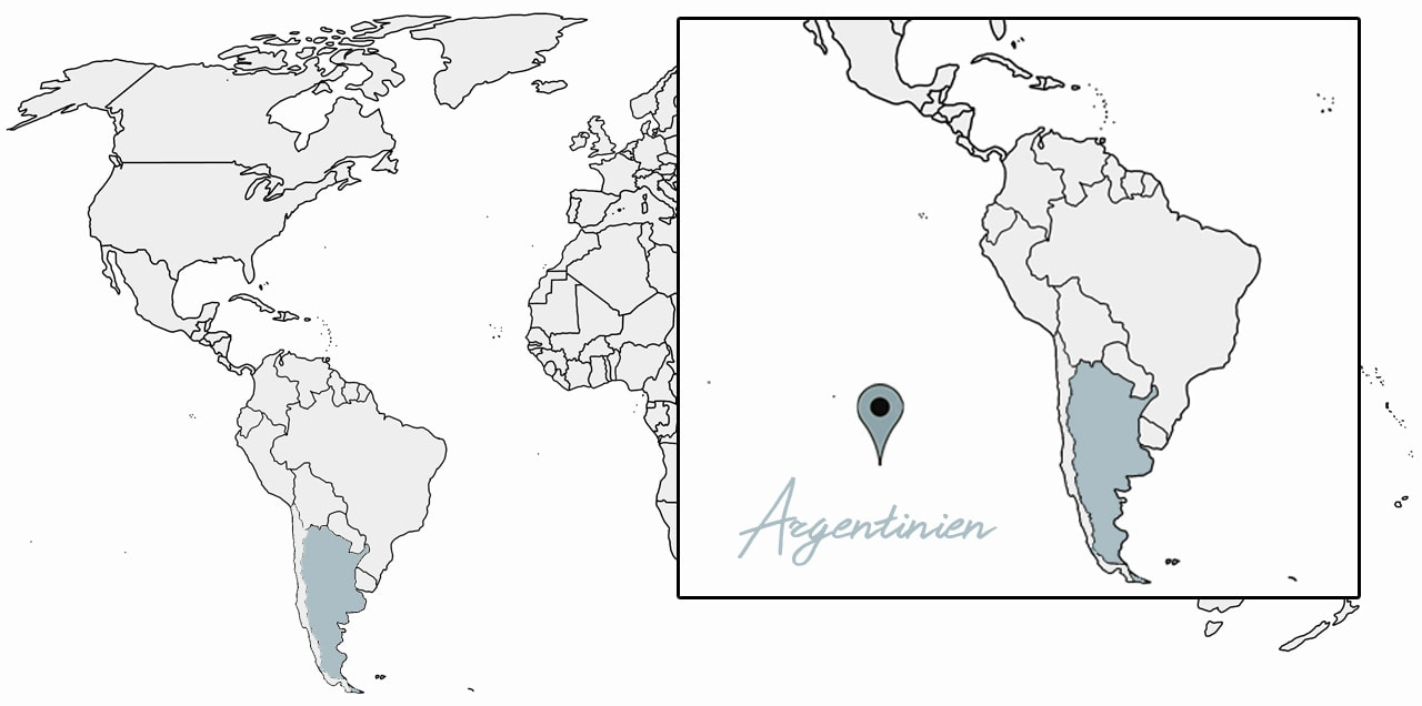 argentinien reisetipps karte