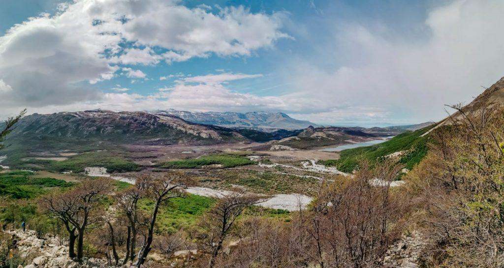 fitz roy el chalten Landschaft Patagonien Aufstieg Laguna de los Tres