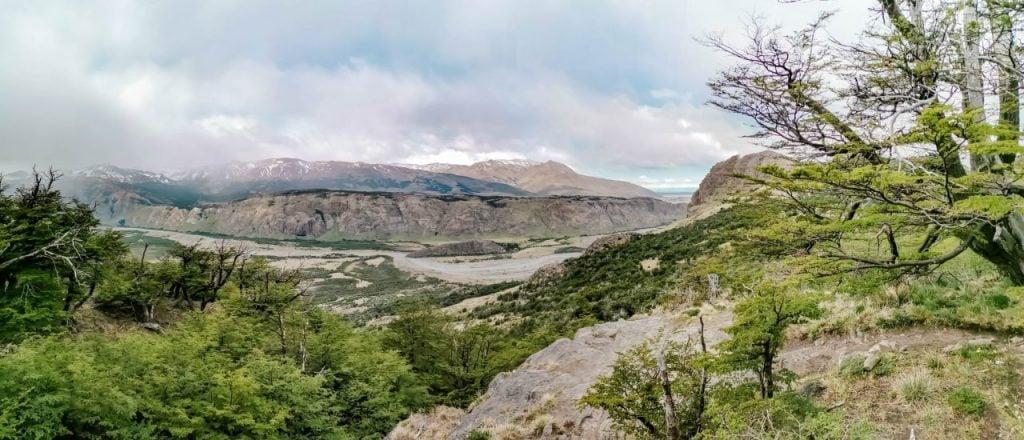 fitz roy el chalten Wandern in El Chalten Ausblick Rio de las Vueltas