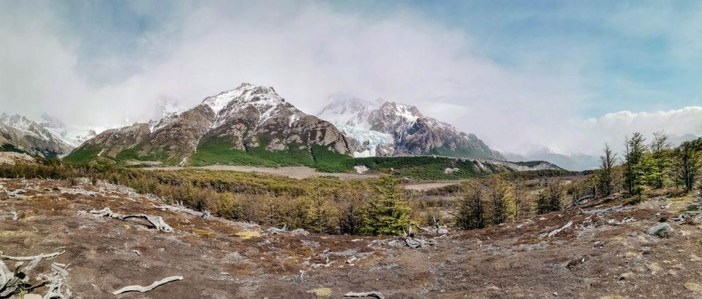 fitz roy el chalten Wandern in Patagonien Bergpanorama