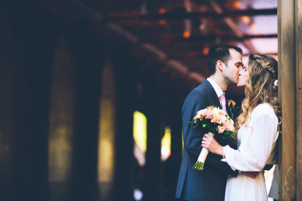 Brautpaar Fotoshooting Heiraten in New York