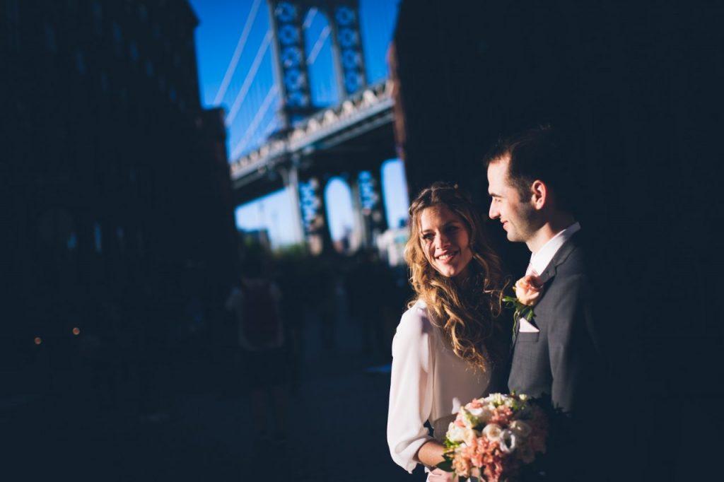 Heiraten in New York Hochzeitsfotos Dumbo Brooklyn