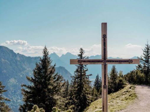 Wanderung Schloss Neuschwanstein Gipfelkreuz Tegelberg