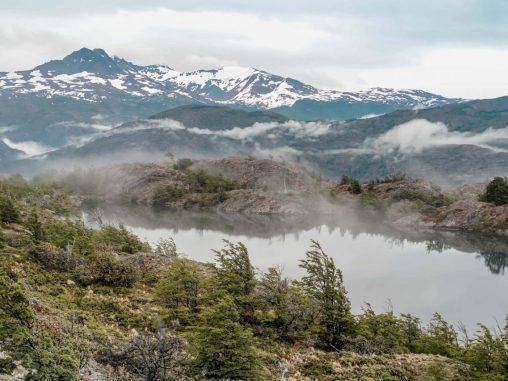 Torres del Paine Nationalpark Ausblick Laguna Los Patos W-Trek