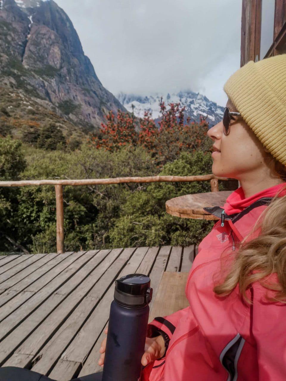 Campingplatz Cuernos Torres del Paine Nationalpark Patagonien
