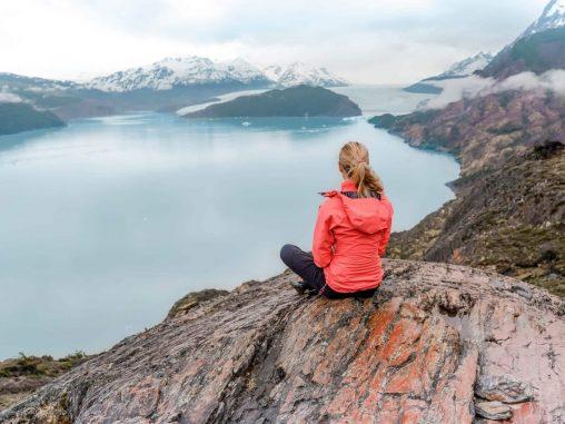 Torres del Paine Nationalpark Ausblick Laguna Grey