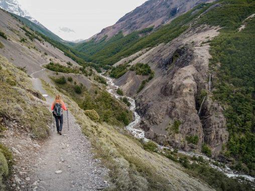Wanderweg Torres del Paine Nationalpark Las Torres Aussichtspunkt