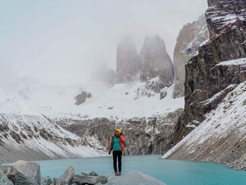 Las Torres Türme im Torres del Paine Nationalpark