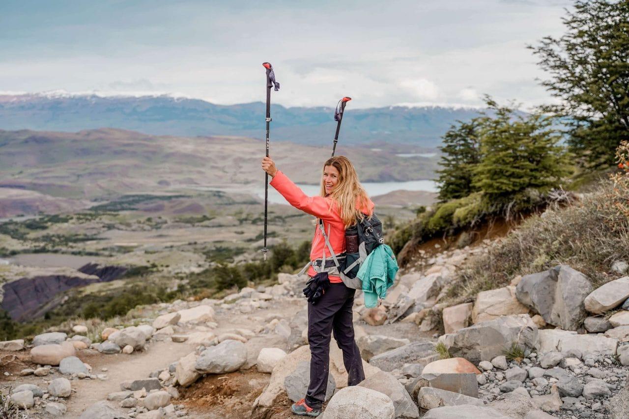 W-Trek Wanderung Torres del Paine Nationalpark Patagonien