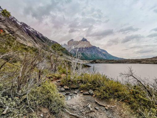 Ausblick Lake Sköttsberg Torres del Paine Nationalpark Patagonien