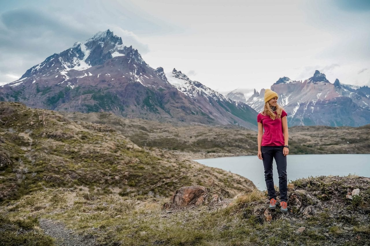 Patagonien Torres del Paine Wanderung Berglandschaft