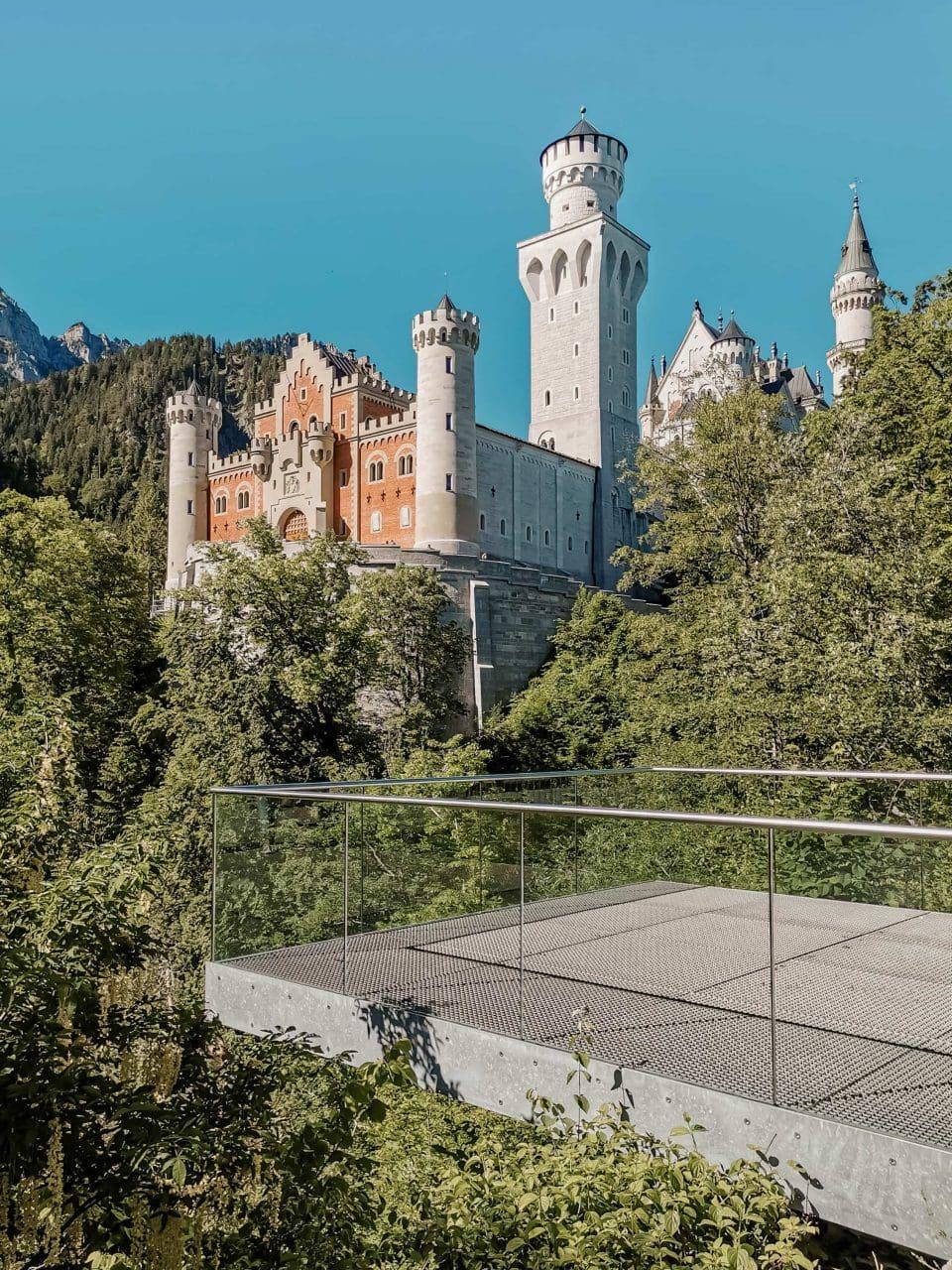 Sehenswürdigkeiten Allgäu Aussichtsplattform Schloss Neuschwanstein