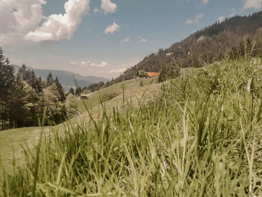Landschaft Allgäu Wanderung