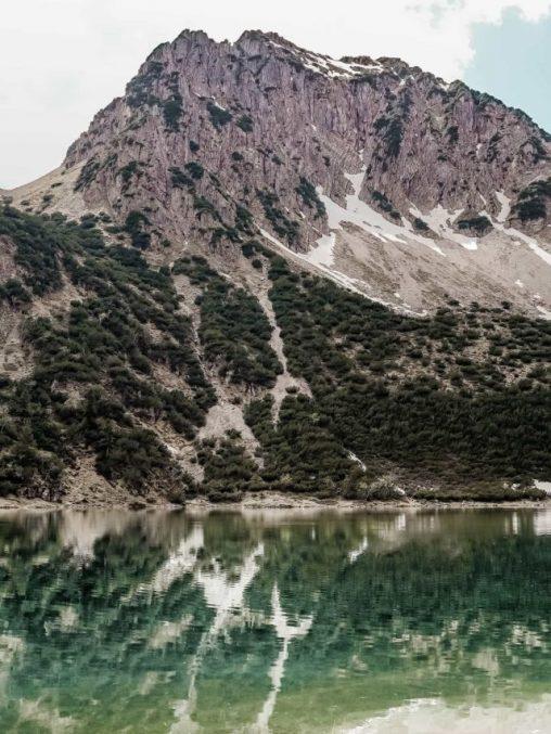 wanderung zum gaisalpsee Rubihorn und Gaisalpsee Allgäuer Alpen
