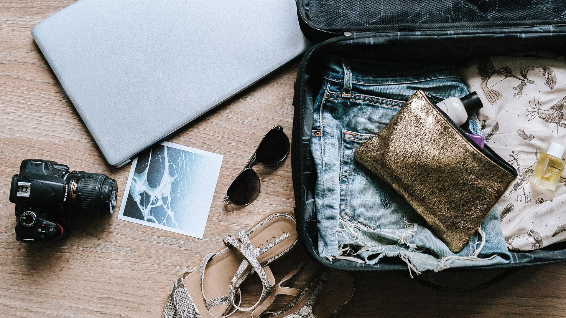 die besten reise apps richtig packen, pack hacks
