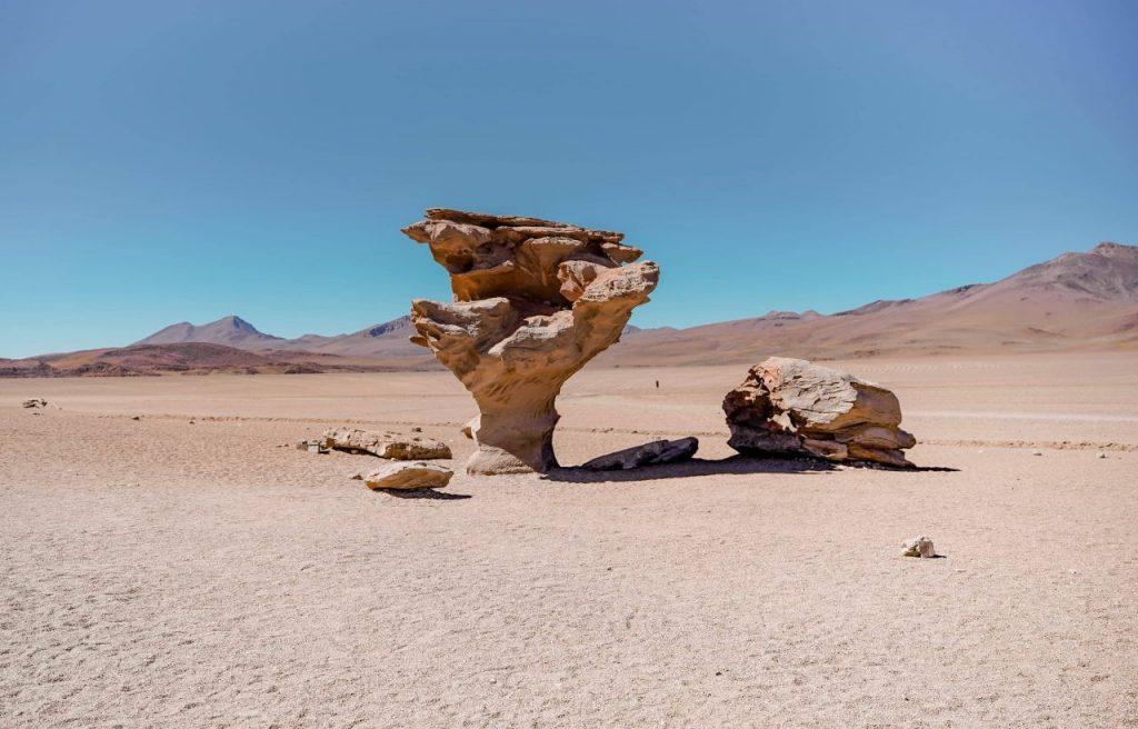 arbol de piedras steinformation wüste bolivien hochland