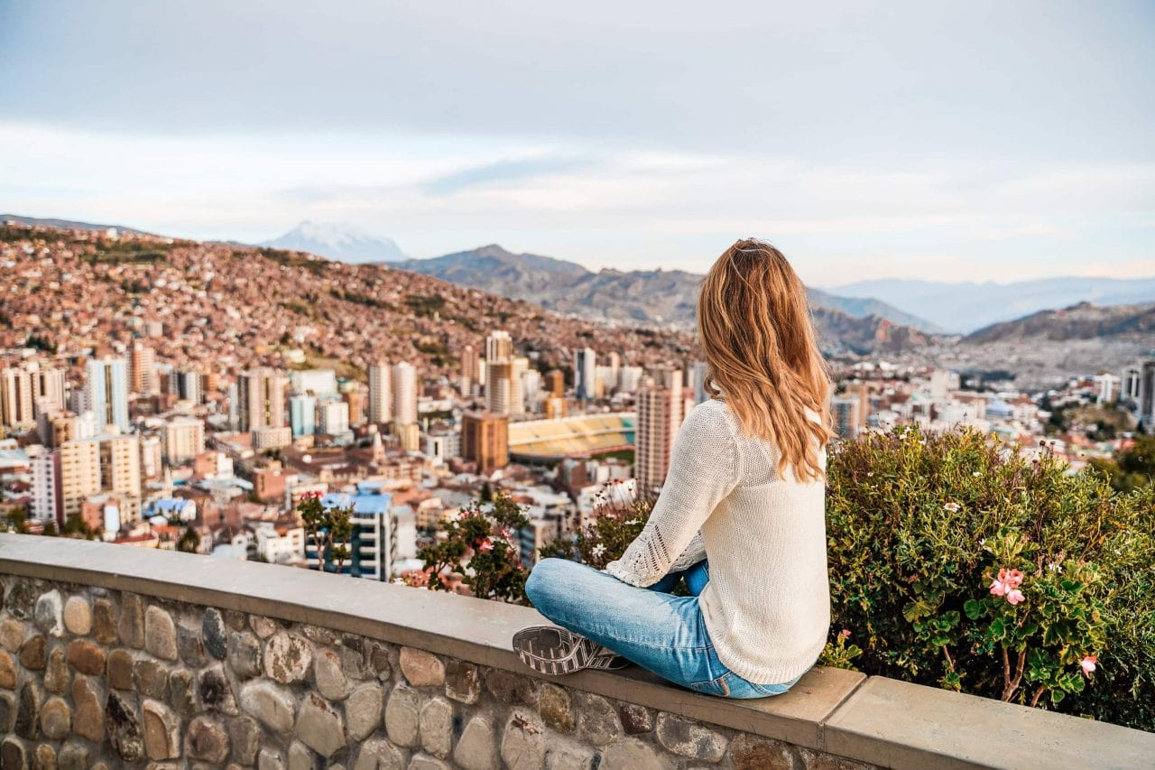 bolivien la paz aussichtspunkt