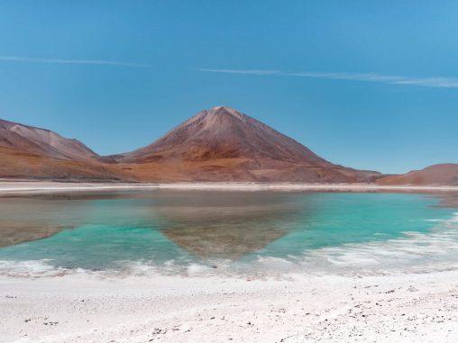 bolivien hochland laguna verde