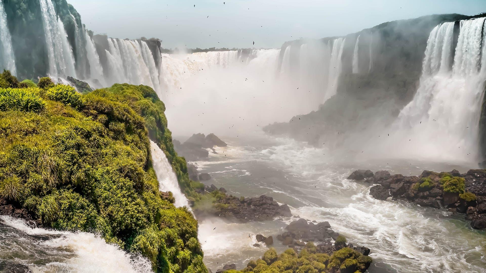 iguazu wasserfälle brasilien