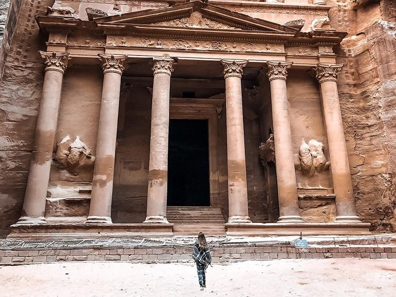 felsenstadt petra jordanien