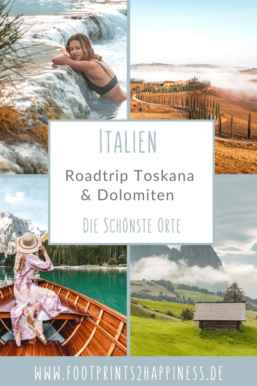 Italien Roadtrip - Traumreise zwischen Bergen & Meer