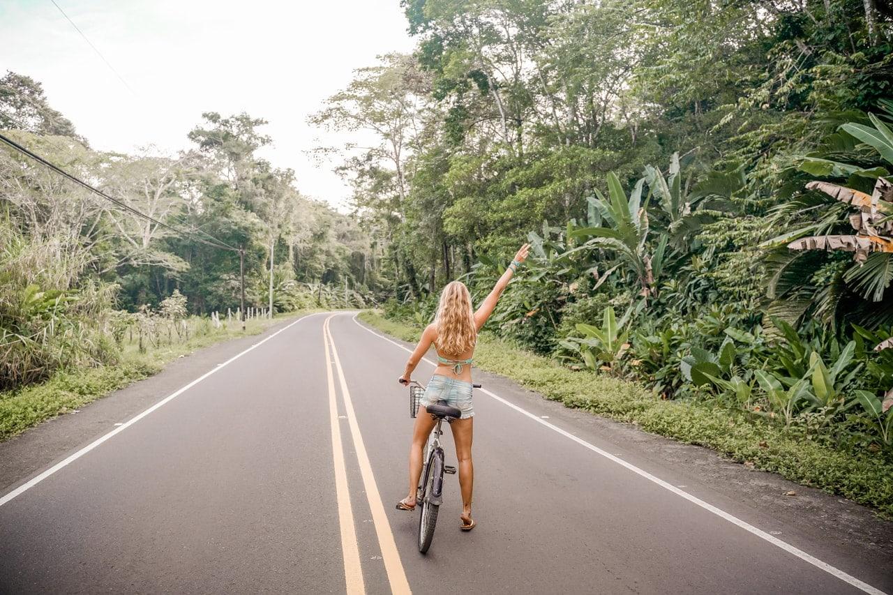 costa rica reisetipps fahrrad fahren karibikküste