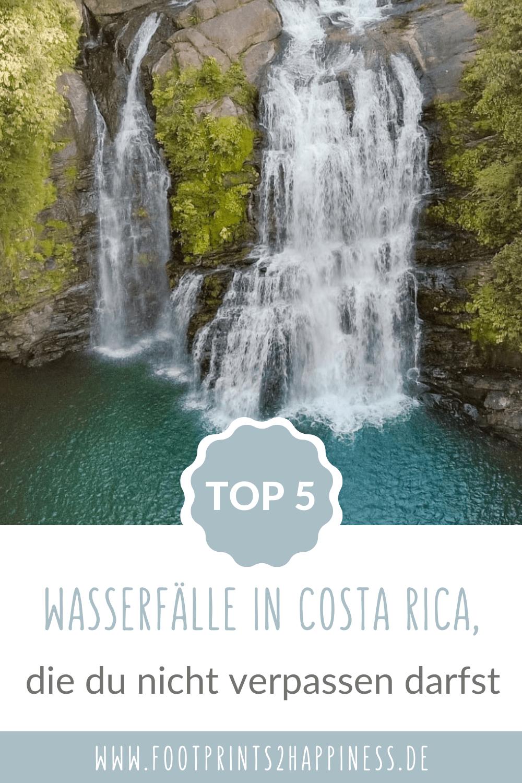 Die 5 schönsten Wasserfälle in Costa Rica