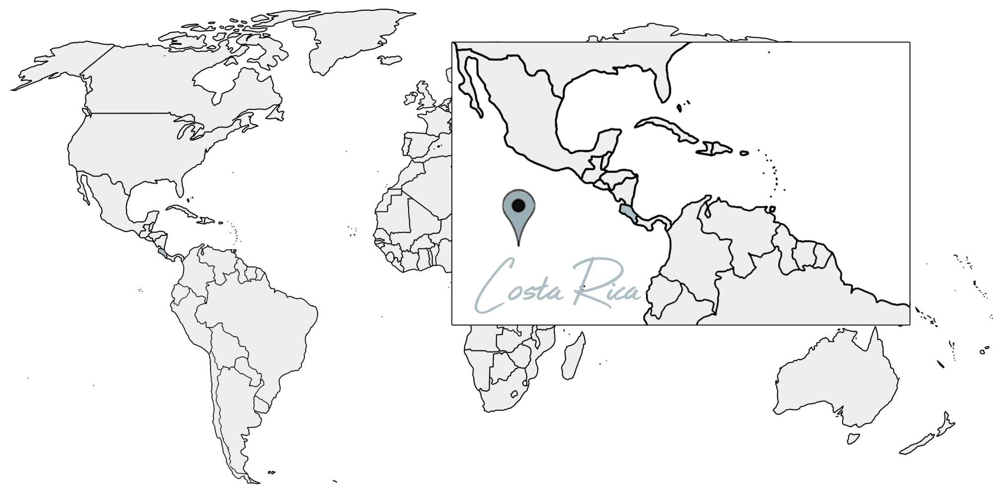costa rica reisetipps karte