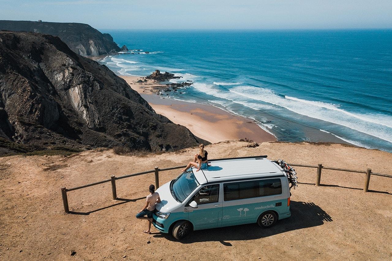 portugal roadtrip cordoama viewpoint roadsurfer camper